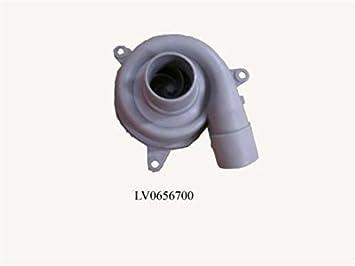 Cuerpo bomba motor lavavajillas Fagor LE25G LV0656700 ...