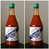 Crystal Louisiana's Pure Hot Sauce, 12 fl oz (Pack of 2)