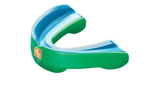 Shock Doctor Gel Nano Convertible Mouthguard (Pearl Green, Youth)