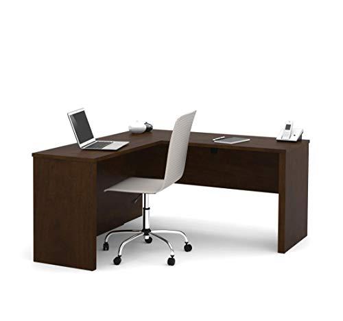 - Bestar L-Shaped Desk - Prestige Plus