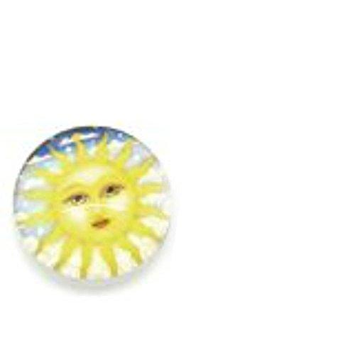 Sun Face Design -