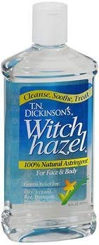 T.N. Dickersons Witch Hazel Astringent - 16oz, Pack of 2