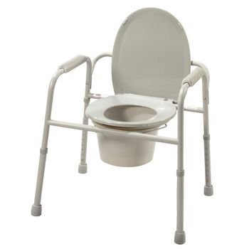 Deluxe All In One Commode - 5