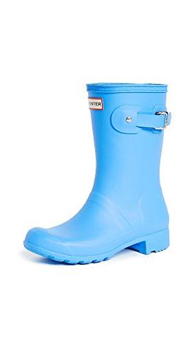 Hunter Original Tour Short Rain Boots Forget Me Not Womens Rain Boots 47SZq