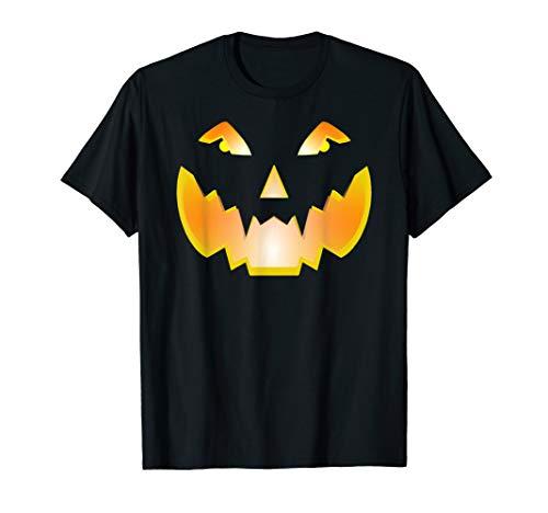 Halloween Shirt Halloween Tshirt Funny Pumpkin Scary Spooky T-Shirt]()