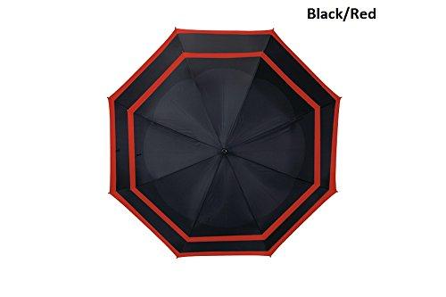 Bag Boy Rain Canopy - Bag Boy Telescoping Wind Vent - Modern Assorted (