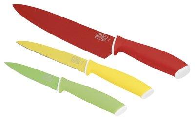 3PC SS Knife Set