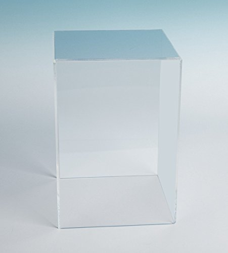 Acrylic Box Case (18Hx12Wx12D - 3/16 thick) | 5 Sided (Museum Case)