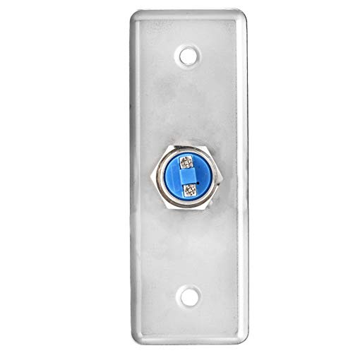 Access Control Switch, Portable Push Button Stainless Steel Door Release Switch for Door Access Control System