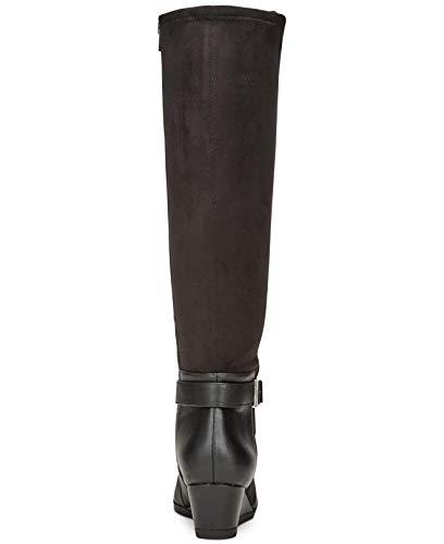 Boots Knee Toe Cathrin Black Giani Over Closed Womens Fashion Bernini 48RxY