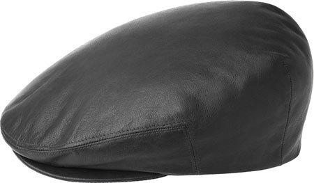 Kangol Men s Heritage Collection Luxurious Italian Leather Cap ... 8f9ca108bf0