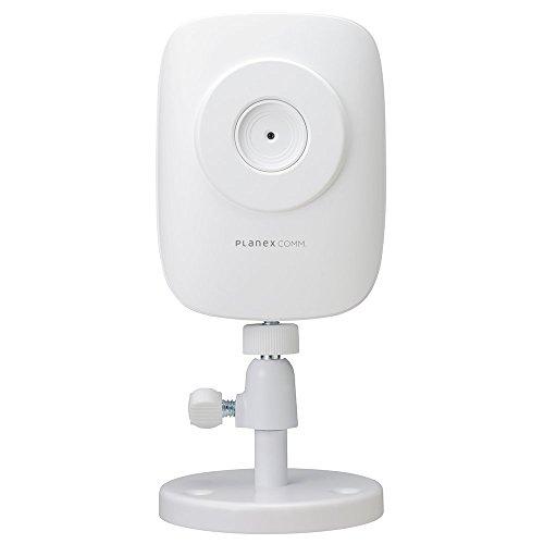 PLANEX ネットワークカメラ 手軽にカメラの映像をスマホで見られる 【スマカメ】マイク内蔵・iPhone/Android対応 CS-QR10