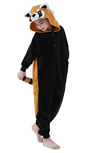 NEWCOSPLAY Unisex Children Animal Pajamas Halloween Costume (105#, -