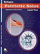 Patriotic Solos (Schaum Solos Book Patriotic)