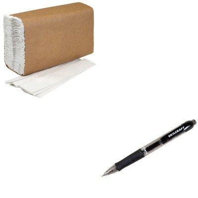 KITNSN4940909NSN5068500 - Value Kit - NIB - NISH 8540014940909 C-Fold Paper Towels (NSN4940909) and NIB - NISH 7520015068500 VISTA Gel Ink Pen (NSN5068500)