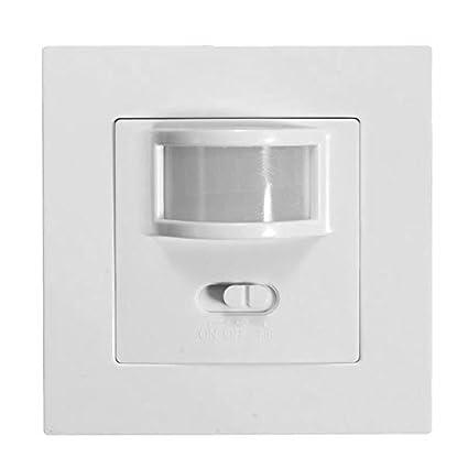 Sunsbell El sensor de movimiento PIR control del interruptor de la luz infrarroja IR de la