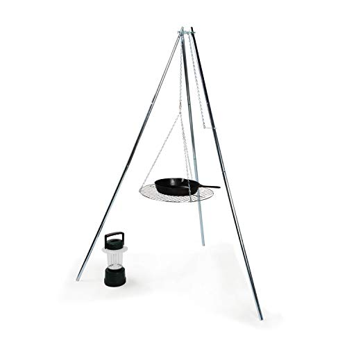 Camco 51079 Tripod Grill and Lantern Holder
