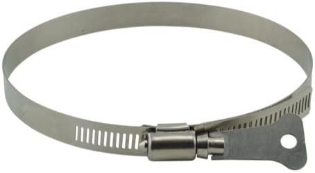 Ideal Air Butterfly Hose Clamps 8in 2 Pack