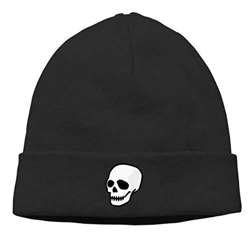 Hip-Hop Knitted Hat for Mens Womens Sugar Skull Unisex Cuffed Plain Skull Knit Hat Cap Head Cap]()