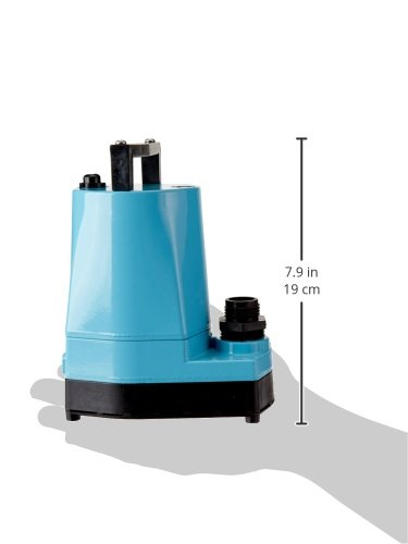 Little Giant 505005 5 Msp 1 6 Hp Submersible Utility Pump