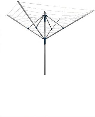40 m 4 44 brazo giratorio de aluminio al aire libre secador de Garden tendedero tender: Amazon.es: Jardín