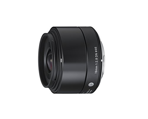 Sigma 19mm F2.8 EX DN Art (Black) for Micro 4/3