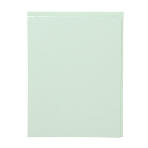 American Crafts Ms. Sparkle & Co. Paperie 4.5'' x 5.5'' Cards & Envelopes - Invitation Card Making, Papercrafts Embellishment - Light Turquoise by American Crafts