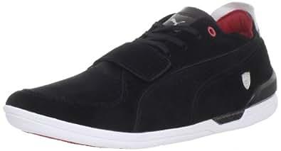 Puma Men's Driving Power 2 Low SF Fashion Sneaker,Black/Rosso Corsa,6 D US
