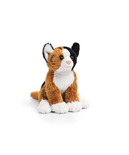 Calico Female Cat Children's Plush Beanbag Stuffed Animal Toy from DEMDACO