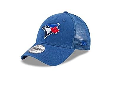 New Era 9Forty Toronto Blue Jays Hat Trucker Adjustable Mesh Royal Blue Cap