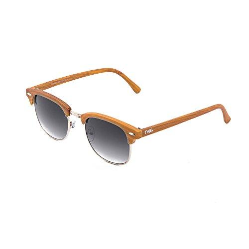 Chestnut hombre madera DEGAS de sol Gafas Degradado TWIG mujer estilo Negro TqwU8xY4