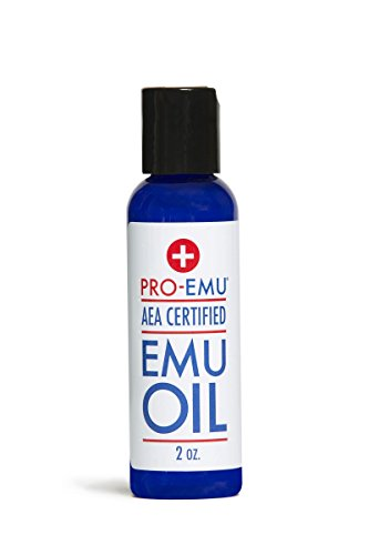 Blue Emu Oil (PRO EMU OIL (2 oz) All Natural Emu Oil - AEA Certified - Made In USA - Best All Natural Oil for Face, Skin, Hair and Nails. Excellent for Dry)