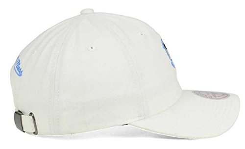 Amazon.com   Mitchell   Ness NBA White Slouch Washed Cotton Dad Hat ( Adjustable 466135b1a665