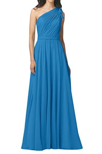 Missdressy - Robe - Trapèze - Femme -  bleu - 42