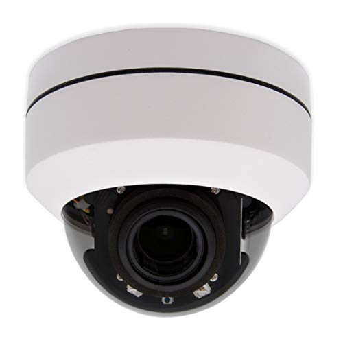 Inwerang HD 1080P Outdoor POE IP PTZ IR Dome Security Camera, 2.7-13.5mm 5X Optical Zoom, 2MP Outdoor 98ft IR Night Vision, Remote Control Pan/Tilt/Zoom, Onvif, Ceiling Mount Installation - Camera Ptz Control