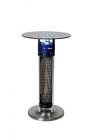 Acoplador De Terraza Calefactor Bimar se1600.EU Estufa y pie mesa en un 1600 W: Amazon.es: Jardín