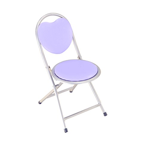 Frenchi Home Furnishing Kids Metal Folding Chair, Purple