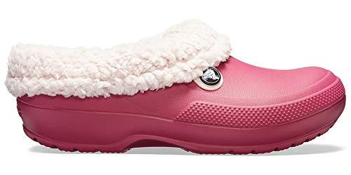 Crocs Classic Blitzen III Clog, Pomegranate/Petal Pink, 4 Men / 6 US Women
