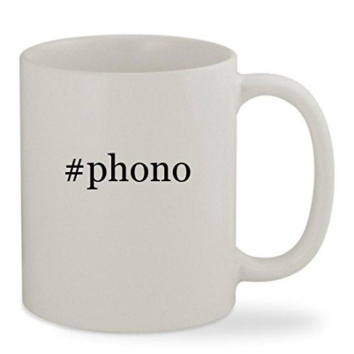 Phono   11Oz Hashtag White Sturdy Ceramic Coffee Cup Mug