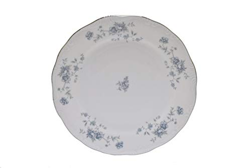Blue Garland Bread Butter Plates - Johann Haviland Blue Garland Bavaria Germany 6.25