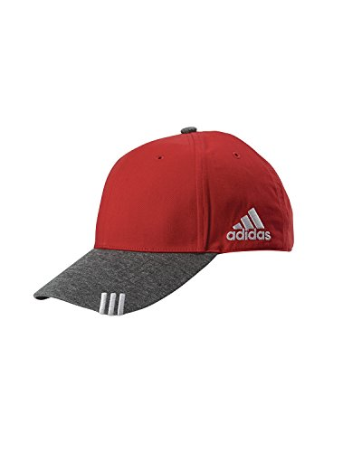 adidas Golf Unisex Collegiate Heather Cap (A625) -COL RED/DK -OS