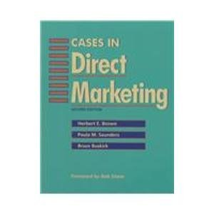 Cases in Direct Marketing (NTC Business Books)
