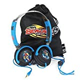 Beyblade Multi-Device Stereo Fold-up Headphones and Carry case