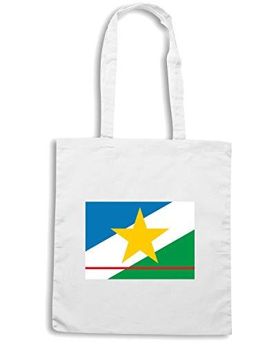 Borsa Shopper Bianca TM0162 BANDEIRA DE RORAIMA FLAG
