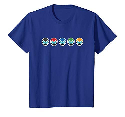 Price comparison product image Kids DreamWorks - Voltron Helmets Kids T-Shirt