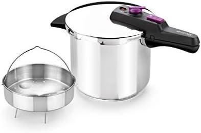 Monix Tempo Set de casseroles 4 + 7 l 18/10 Steel