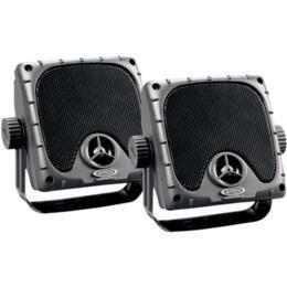 JENSEN JXHD35 Heavy Duty 3.5'' MINI Weatherproof Surface Mount Speakers (1 Pair), Black by Jensen
