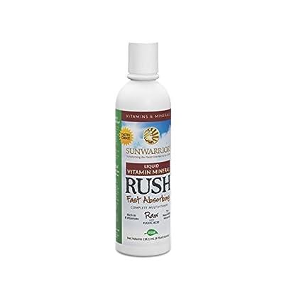Sunwarrior - Vitamin Mineral Rush, Fast Absorbing, 24 Servings (8 fl oz)