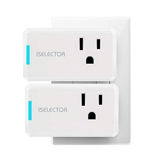 ISELECTOR Mini Smart Plug (2-pack)