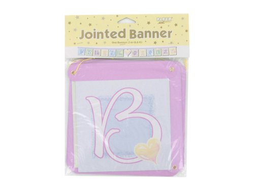 Bridal Shower jointed banner - Case of 48